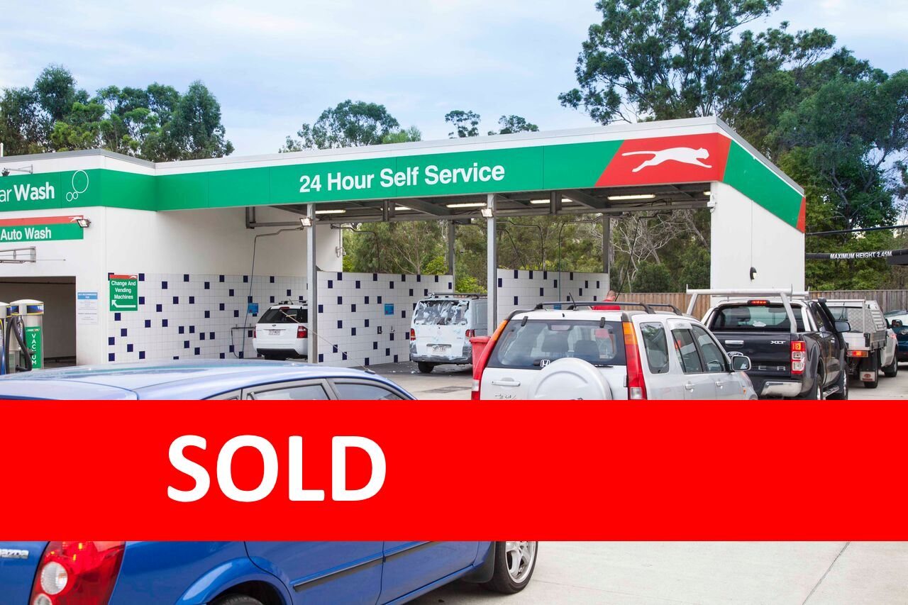 *SOLD* Established Car Wash With Near-New Fit-Out